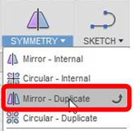 対称形状の作成(1)