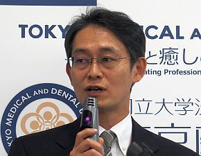 東京医科歯科大学の川嶋健嗣氏