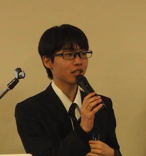 広尾学園 高等学校の渡辺康太さん