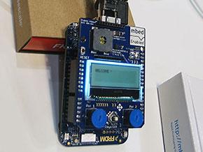 動作中のIoT Starter Kit