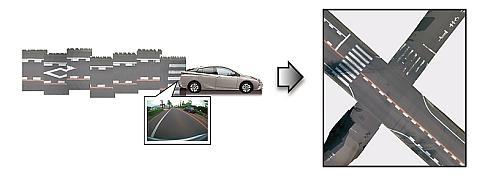 「地図自動生成システム」の高精度地図データ作成プロセス