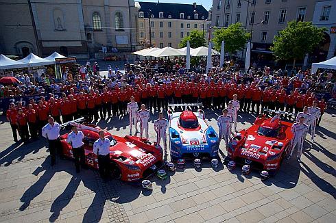 2015年シーズンの「ル・マン24時間耐久レース」に参戦した日産チーム