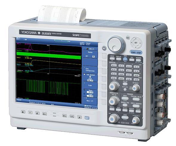 高速・絶縁・多チャネル入力スコープコーダ「DL850EV」