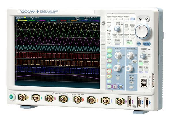 8チャネル入力オシロスコープ「DLM4000シリーズ」