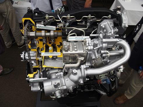 トヨタ自動車の排気量2.8lクリーンディーゼルエンジン「1GD-FTV」