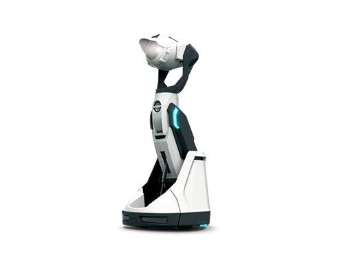 プロジェクターを搭載した自走式ホームロボット「Tipron」(ティプロン)