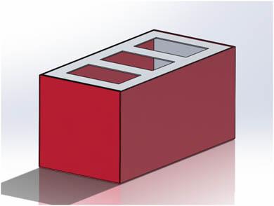 カラーアルマイト(赤)