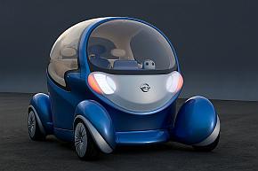 「東京モーターショー2007」で公開した「PIVO 2」