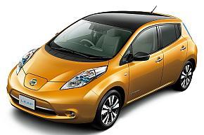 2010年に発売した電気自動車「リーフ」