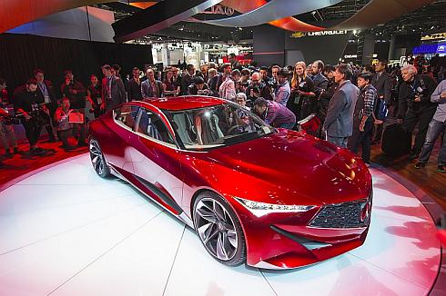 「北米国際自動車ショー2016」で公開された「Acura Precision Concept」