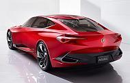 「Acura Precision Concept」のリヤクォータービュー