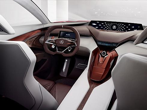 「Acura Precision Concept」の内装
