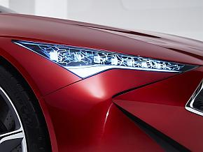 「Acura Precision Concept」のLEDヘッドランプ「Jewel Constellation」