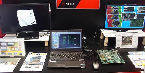 ザイリンクスの「Zynq UltraScale+ MPSoC」の動作デモ