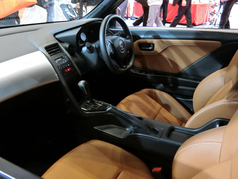 「S660 Neo Classic Concept」は内装もベースの「S660」から変更している