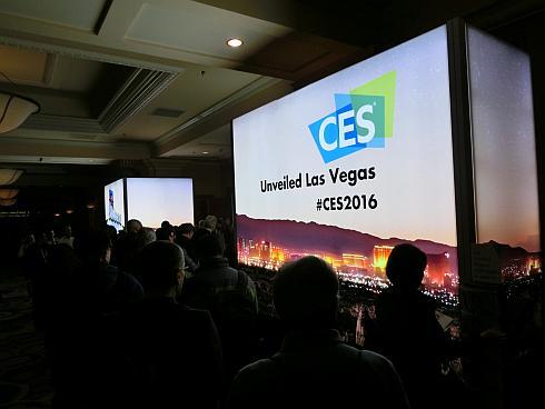 「2016 CES」の報道陣向け発表会