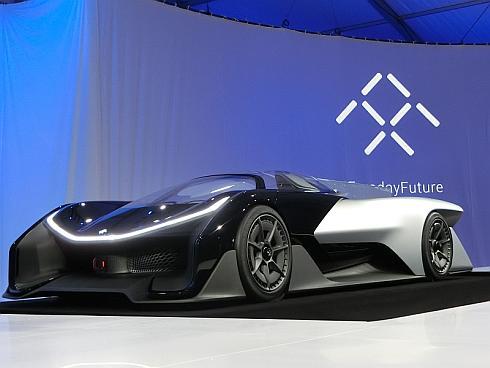 ファラデー・フューチャーの電気自動車コンセプトカー「FF ZERO1」