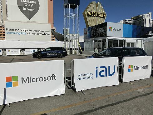 IAVとマイクロソフトによるADASのデモンストレーション
