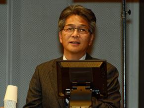 マツダの山本修弘氏。1995年より「ロードスター」開発担当、2007年よりロードスター開発担当主査として従事