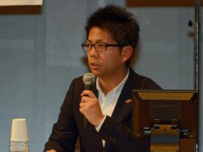 本田技術研究所の椋本陵氏。本田技術研究所創立50周年を記念した社内の新商品提案企画コンペでグランプリを獲得したことがきっかけとなり、2011年より栃木研究所に転属し「S660」の開発を担当した