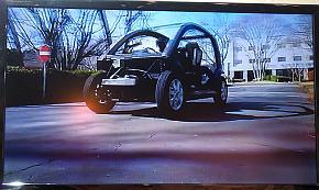 「Sereebo」製ホワイトボディを用いた試作車両の走行映像