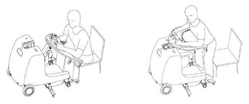 安川電機「屋内移動アシスト装置」の利用イメージ