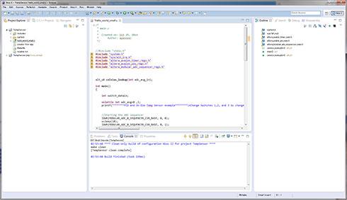 Photo28:ondie_temp.cをファイルとして追加する方法も何度か試したのだが上手くいかなかった