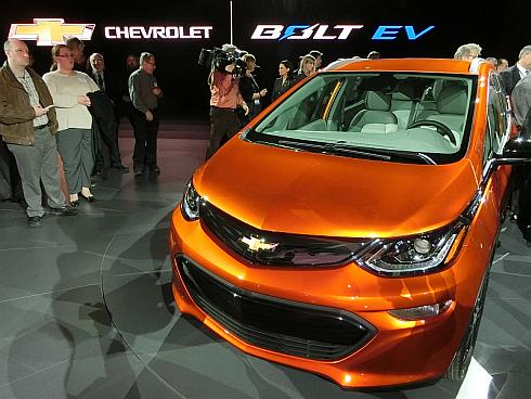 GMの新型電気自動車「BOLT EV」