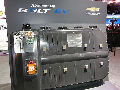 「BOLT EV」の電池パック