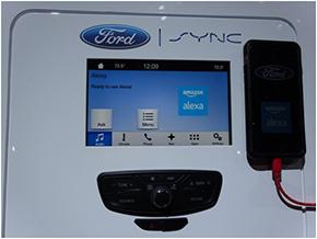 Alexaを利用したFordの車載インフォテイメントシステム