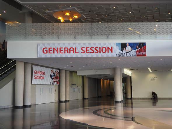 「SOLIDWORKS World 2016」の会場となったケイベイリーハチソンコンベンションセンター(米国テキサス州ダラス)