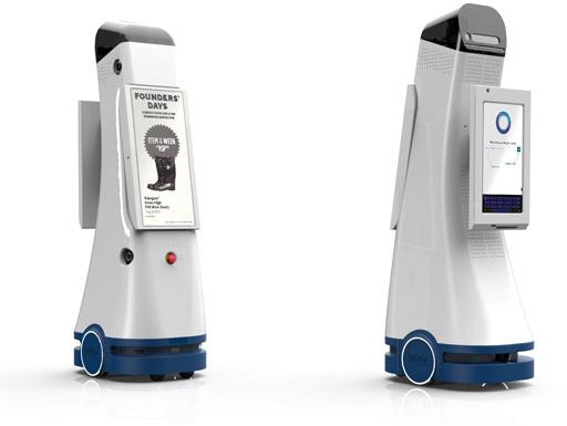 米Fellow Robotsのサービスロボット「NAVII」(ナビー)
