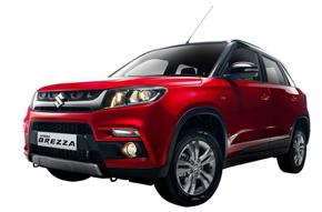 インドで発売する新型コンパクトSUV「ビターラ ブレッツァ」