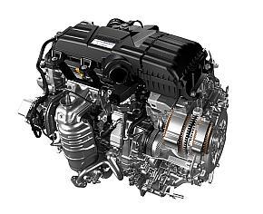 「オデッセイ」のハイブリッドモデルのエンジン/モーター