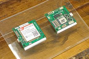 """「さくらのIoT Platform」で利用される通信モジュール。マイコンの接続にはUART/I2C/SPIのいずれかを利用し、アナログセンサーを接続できるスキルがあれば""""モノのインターネット化""""を容易に行えるとしている"""