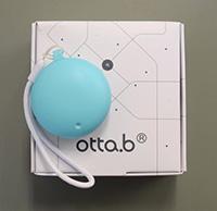見守りサービスで利用される、防犯ブザー付きBluetooth発信器「otto.b」