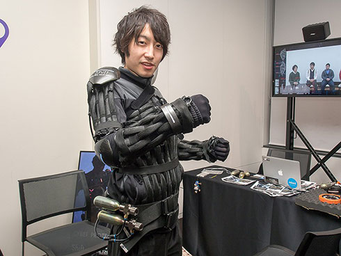 SHIFTの「身体防御スーツ(Cyber Protection Suit)