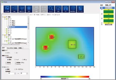 図1 PICLSの操作画面