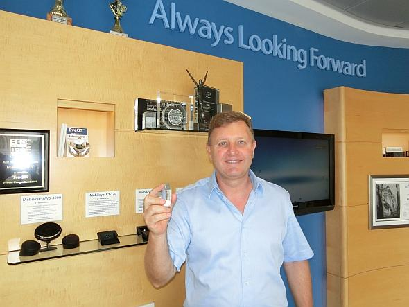 Mobileyeの社長兼共同経営者のジィブ・アヴィラム氏
