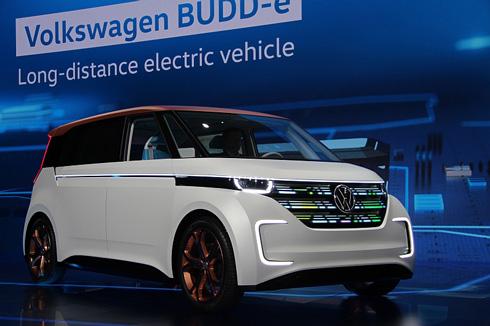 「CES 2016」のイノベーションアワードを受賞した電気自動車「BUDD-e」