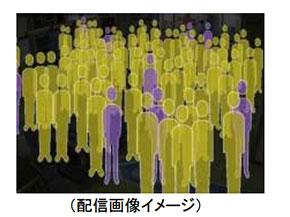 「駅視-vision(エキシビジョン)」で配信される映像のイメージ