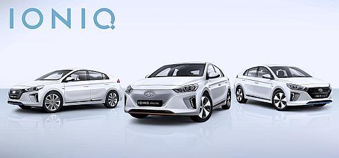 現代自動車の新型車「アイオニック」