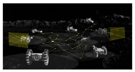 宇宙群ロボットのイメージ