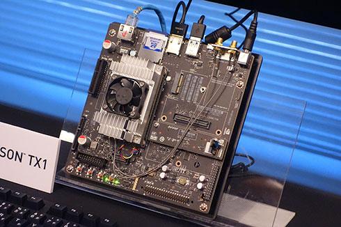 「NVIDIA Jetson TX1」開発キット