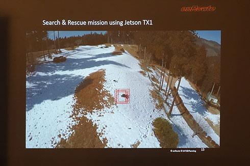 Jetson TX1を利用した上空からの要救助者検出