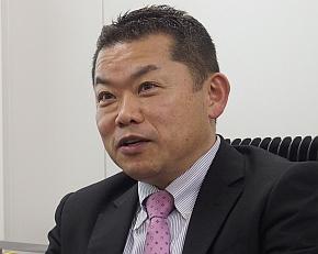 日立ソリューションズ東日本 パッケージビジネス推進本部 本部長の内海由博氏