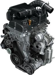 「バレーノ」に搭載した新開発の排気量1.0l直噴ターボエンジン