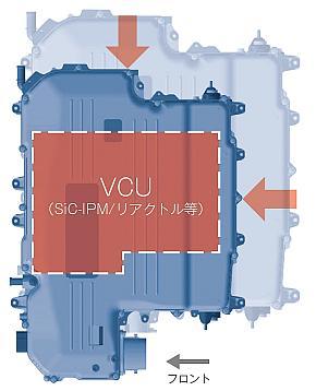 FC昇圧コンバータの小型イメージ