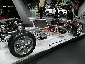 アウディ「Q7 e-tron quattro」のプラグインハイブリッドシステム