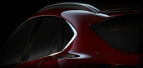 マツダの「CX-4」のディーザー画像